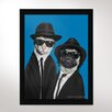 One Bella Casa Brothers Framed Graphic Art