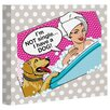 One Bella Casa Doggy Decor Not Single Graphic Art on Canvas
