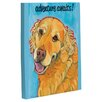 One Bella Casa Doggy Decor Adventure Awaits Graphic Art on Canvas
