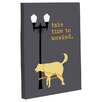 One Bella Casa Doggy Decor Unwind Dog Graphic Art on Canvas