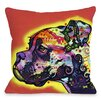 One Bella Casa Doggy Décor Profile Boxer Pillow