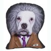 One Bella Casa Pets Rock Brain Shaped Pillow
