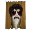 One Bella Casa Pets Rock Kazak Polyester Shower Curtain