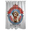 One Bella Casa Doggy Decor Saint Mountain Polyester Shower Curtain