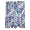 One Bella Casa Oliver Gal Isolee Polyester Shower Curtain