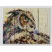 Gizaun Art Signature 1 Looking Back  Full Color Cedar Wall Art