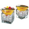 Wine Enthusiast Midtown Martini Chiller (Set of 2)