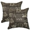 Big Tree Furniture Paris Pillow (Set of 2)