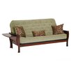 Big Tree Furniture Ella Futon Frame and Mattress with 3 Pillows
