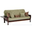 Big Tree Furniture Ella Futon Frame and Mattress with 5 Pillows