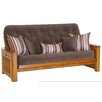 Big Tree Furniture Nina Futon Frame and Mattress with 5 Pillows