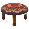 <strong>Divine Designs</strong> Embroidered Footstool