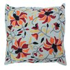 Divine Designs Portola Embroidered Toss Pillow