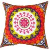 Divine Designs Suzani Cotton Pillow
