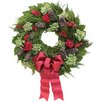 Urban Florals Holiday Holiday Rose Wreath