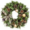 <strong>Urban Florals</strong> Holiday Glitzy Leopard Wreath