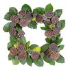 Urban Florals Autumn Lotus Pod Wreath