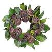 Urban Florals Autumn Lotus Pod Wreath