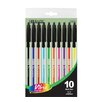 Bazic Vibre Color Stick Pen (Set of 10)