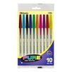 <strong>Bazic</strong> Pure Neon Color Stick Pen (Set of 10) (Set of 10)