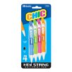 <strong>Bazic</strong> Chic Mini Retractable Pen (Set of 4)