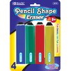 <strong>Bazic</strong> Jumbo Pencil Shape Eraser (Set of 4)
