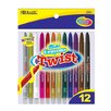 Bazic 12 Color Mini Propelling Crayon Set