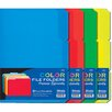 Bazic 6 Ct. 0.33 Cut Letter Size Color File Folder (Set of 48)