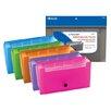 Bazic 5-Pockets Check Size Expanding File
