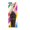 <strong>Assorted Size Oil Paint Brushes (Set of 9)</strong> by Bazic