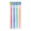 "<strong>12""  Plastic Ruler (Set of 4)</strong> by Bazic"