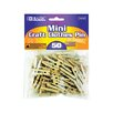 Bazic 50 Ct. Mini Clothespins Set