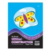 <strong>Glitter Construction Paper Pad (Set of 48)</strong> by Bazic