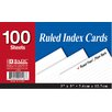 Bazic Ruled Index Card (Set of 36)