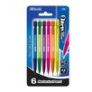 Bazic Mini Claris 0.7mm Mechanical Pencil (Set of 6)