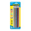 <strong>Bazic</strong> Metallic Glitter Wood Pencil with Eraser (Set of 6)