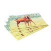 Betsy Drake Interiors Horses Placemat (Set of 4)