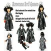 "<strong>Arianna</strong> Ravena Evil Queen 4 Piece Doll Outfit Set for 18"" American Girl Doll"