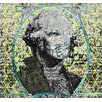<strong>Carlyle Fine Art</strong> Figurative Cubed George by Jordan Carlyle Graphic Art