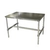 """PVIFS 34"""" Aluminum I Frame Work Table"""