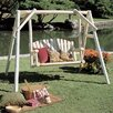 <strong>Rustic Natural Cedar Furniture</strong> Porch Swing with Stand