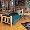 Rustic Natural Cedar Furniture Rustic Slat Bedroom Collection