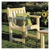 Rustic Natural Cedar Furniture English Garden Adirondack Chair