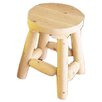 """Rustic Natural Cedar Furniture 18"""" Barstool (Set of 2)"""