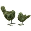 <strong>2 Piece Stoneware Bird Set</strong> by Urban Trends
