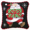 <strong>Peking Handicraft</strong> Santa's Gift Needlepoint Pillow