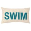 Peking Handicraft Nautical Applique Swim Pillow