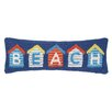 Peking Handicraft Nautical Hook Beach House Pillow
