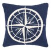 <strong>Nautical Hook Compass Pillow</strong> by Peking Handicraft