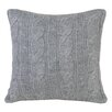 Peking Handicraft Modern Heirloom Cable Knit Pillow